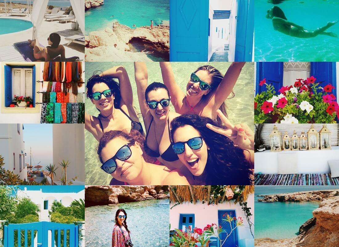 koufonisia instagram collage